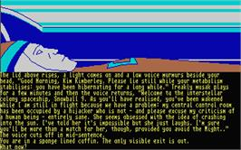 In game image of Silicon Dreams on the Atari ST.