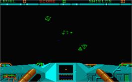 In game image of Sky Chase on the Atari ST.