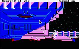 In game image of Space Ace II: Borf's Revenge on the Atari ST.