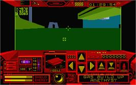 In game image of Space Station Oblivion on the Atari ST.