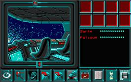 In game image of Star Trap on the Atari ST.