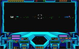 In game image of Starglider on the Atari ST.