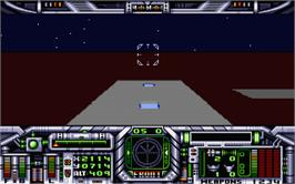In game image of Stationfall on the Atari ST.
