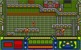 In game image of Stryx on the Atari ST.