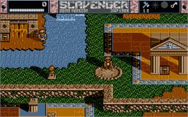 In game image of Suspended on the Atari ST.