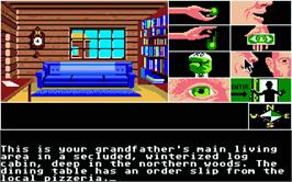 In game image of Tass Times in Tonetown on the Atari ST.