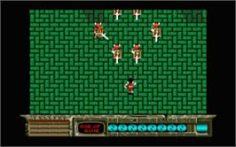 In game image of Time Soldiers on the Atari ST.