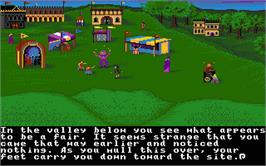 In game image of Ultima IV: Quest of the Avatar on the Atari ST.