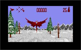 In game image of Unreal on the Atari ST.