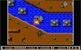 In game image of Violator on the Atari ST.