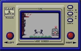 In game image of Vixen on the Atari ST.