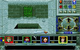 In game image of Walls of Illusion on the Atari ST.