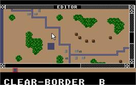 In game image of Wargame Construction Set on the Atari ST.