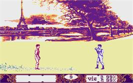 In game image of Witness on the Atari ST.