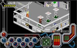 In game image of Wreckers on the Atari ST.