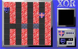 In game image of Xor on the Atari ST.
