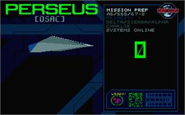 In game image of Zero 5 on the Atari ST.
