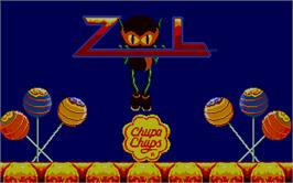 In game image of Zool on the Atari ST.