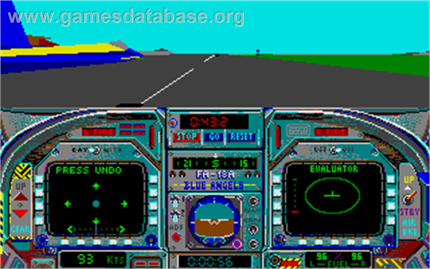 image of Blue Angels: Formation Flight Simulation on the Atari ST