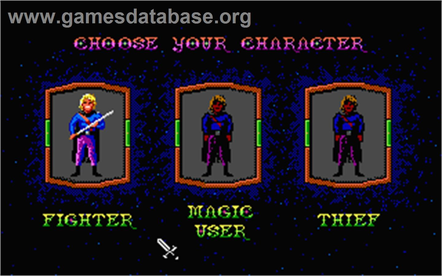 Hero's Quest: So You Want To Be A Hero - Atari ST - Artwork - In Game