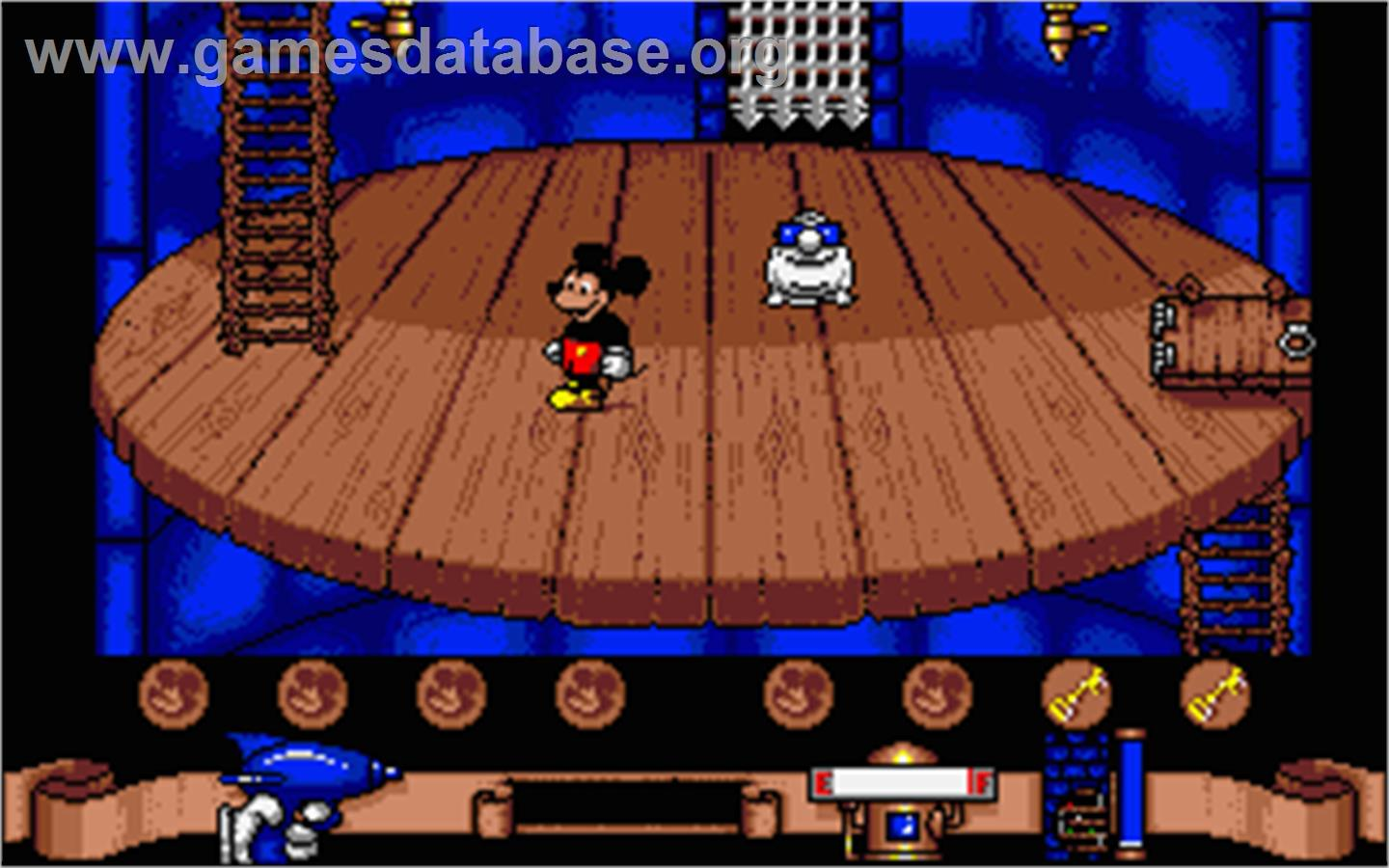 Games Timmy Barbarian on Mickey Mouse The Computer Game Atari St Games