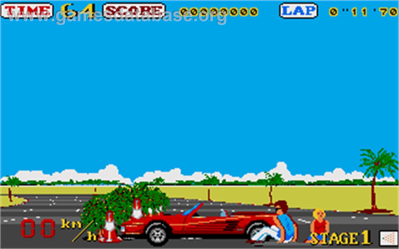 Out Run Atari St Games Database