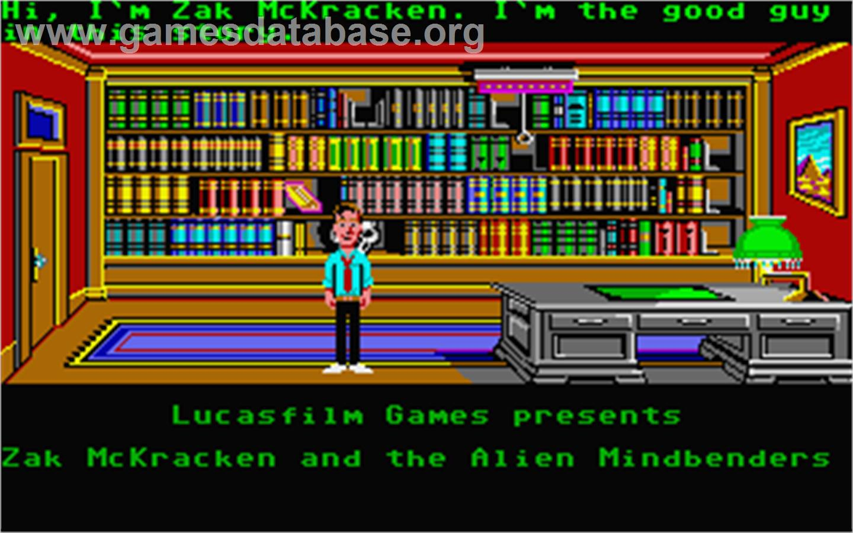 Zak McKracken and the Alien Mindbenders - Atari ST - Artwork - In Game