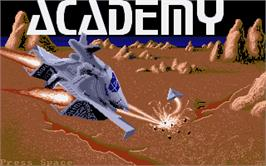 Title screen of Academy: Tau Ceti 2 on the Atari ST.