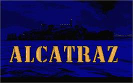Title screen of Alcatraz on the Atari ST.
