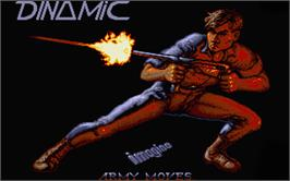 Title screen of Army Moves on the Atari ST.