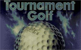 Title screen of Arnold Palmer Tournament Golf on the Atari ST.