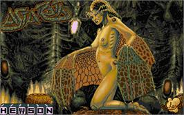 Title screen of Astaroth: The Angel of Death on the Atari ST.