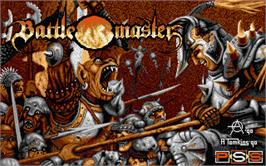 Title screen of Battle Master on the Atari ST.