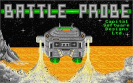Title screen of Bermuda Project on the Atari ST.