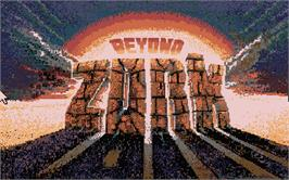 Title screen of Beyond Zork: The Coconut of Quendor on the Atari ST.