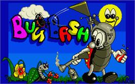 Title screen of Bug Bash on the Atari ST.