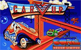 Title screen of Car-Vup on the Atari ST.