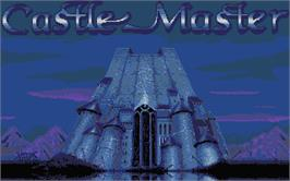 Title screen of Castle Master on the Atari ST.