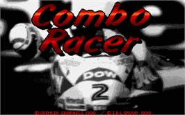 Title screen of Combo Racer on the Atari ST.