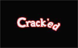 Title screen of Crack'ed on the Atari ST.