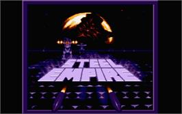 Title screen of Cyber Empires on the Atari ST.