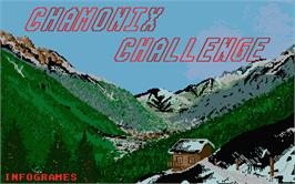 Title screen of Daley Thompson's Olympic Challenge on the Atari ST.