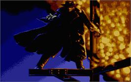 Title screen of Darkman on the Atari ST.