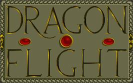 Title screen of Dragonflight on the Atari ST.
