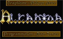 Title screen of Enchanter on the Atari ST.