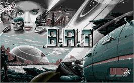 Title screen of HATE on the Atari ST.