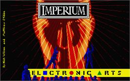 Title screen of Imperium on the Atari ST.