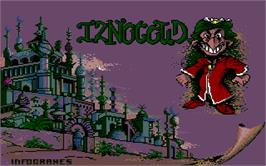 Title screen of Iznogoud on the Atari ST.
