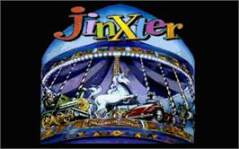 Title screen of Jinxter on the Atari ST.