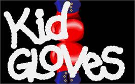 Title screen of Kid Gloves on the Atari ST.